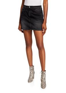 FRAME Denim Le Mini Skirt