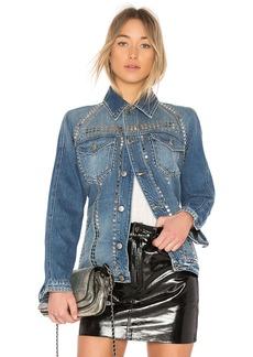 FRAME Denim Le Studded Jacket