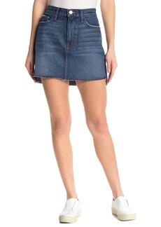 FRAME Denim Raw Hem Mini Skirt (Regular & Plus Size)