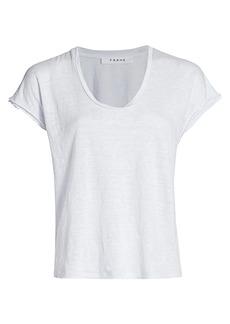 FRAME Easy Scoopneck T-Shirt