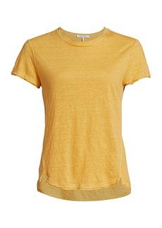 FRAME Easy True Organic Linen T-Shirt