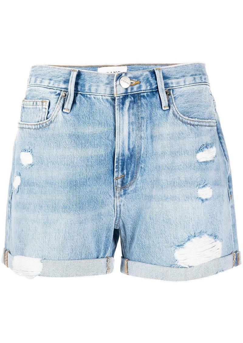 FRAME Elsey denim shorts