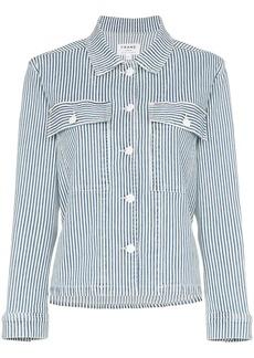 FRAME Engineer stripe shirt jacket