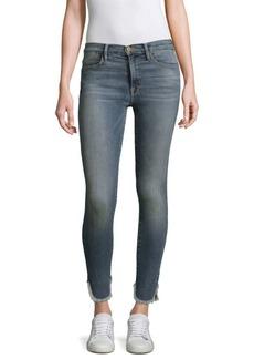 FRAME Fade Fray-Hem Jeans