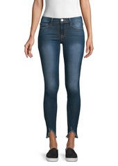FRAME Faded Skinny Jeans