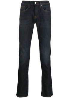 FRAME faded straight-leg jeans