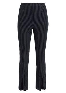 FRAME Fine Variegated Slit Pants