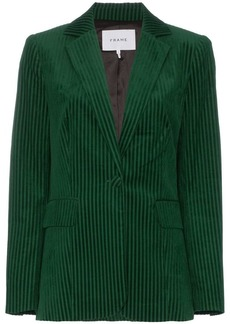 FRAME fitted corduroy cotton-blend jacket