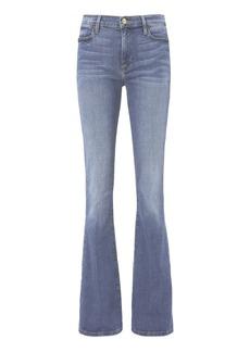 FRAME Le High Flare Blue Jeans