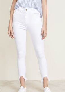 FRAME Ali Cigarette Jeans with Stiletto Hem