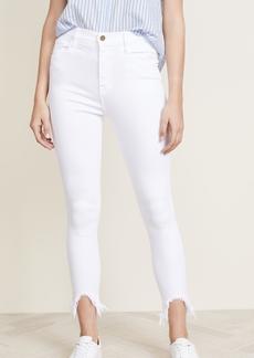 FRAME Ali Cigarette Jeans with Stiletto Hem