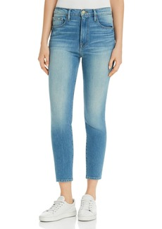 FRAME Ali High-Rise Cigarette Jeans in Opus