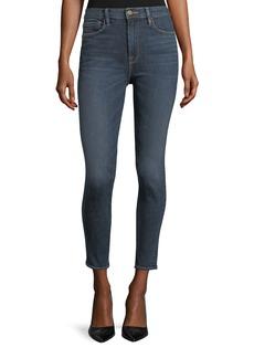 FRAME Ali High-Rise Skinny Cigarette Ankle Jeans