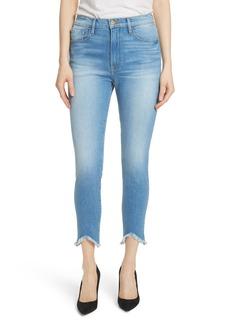 FRAME Ali High Waist Ankle Skinny Jeans (Opus)