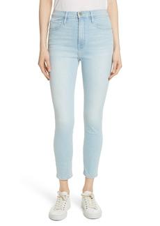 FRAME Ali High Waist Ankle Skinny Jeans (Tadley)