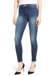 FRAME Ali High Waist Crop Skinny Jeans (Belhaven)