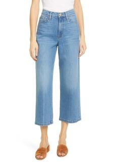 FRAME Ali High Waist Crop Wide Leg Jeans (Mailain)