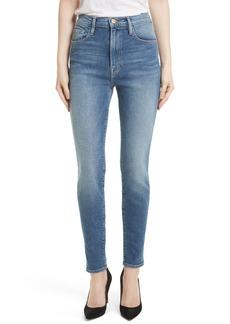 FRAME Ali High Waist Skinny Jeans (Juniper)