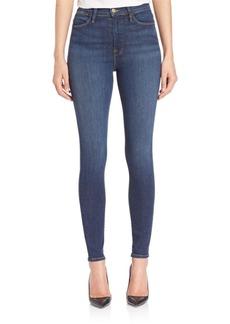 FRAME Alli High-Rise Skinny Jeans