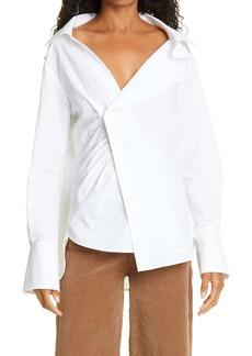 FRAME Asymmetric Shirt
