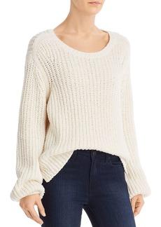 FRAME Blouson-Sleeve Sweater