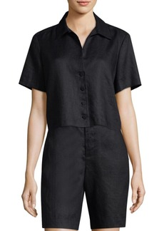 FRAME Button Front Mini Shirt