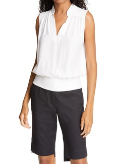 FRAME Cali Sleeveless Silk Top (Nordstrom Exclusive)