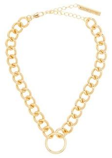 Frame Chain Hooker gold-plated choker