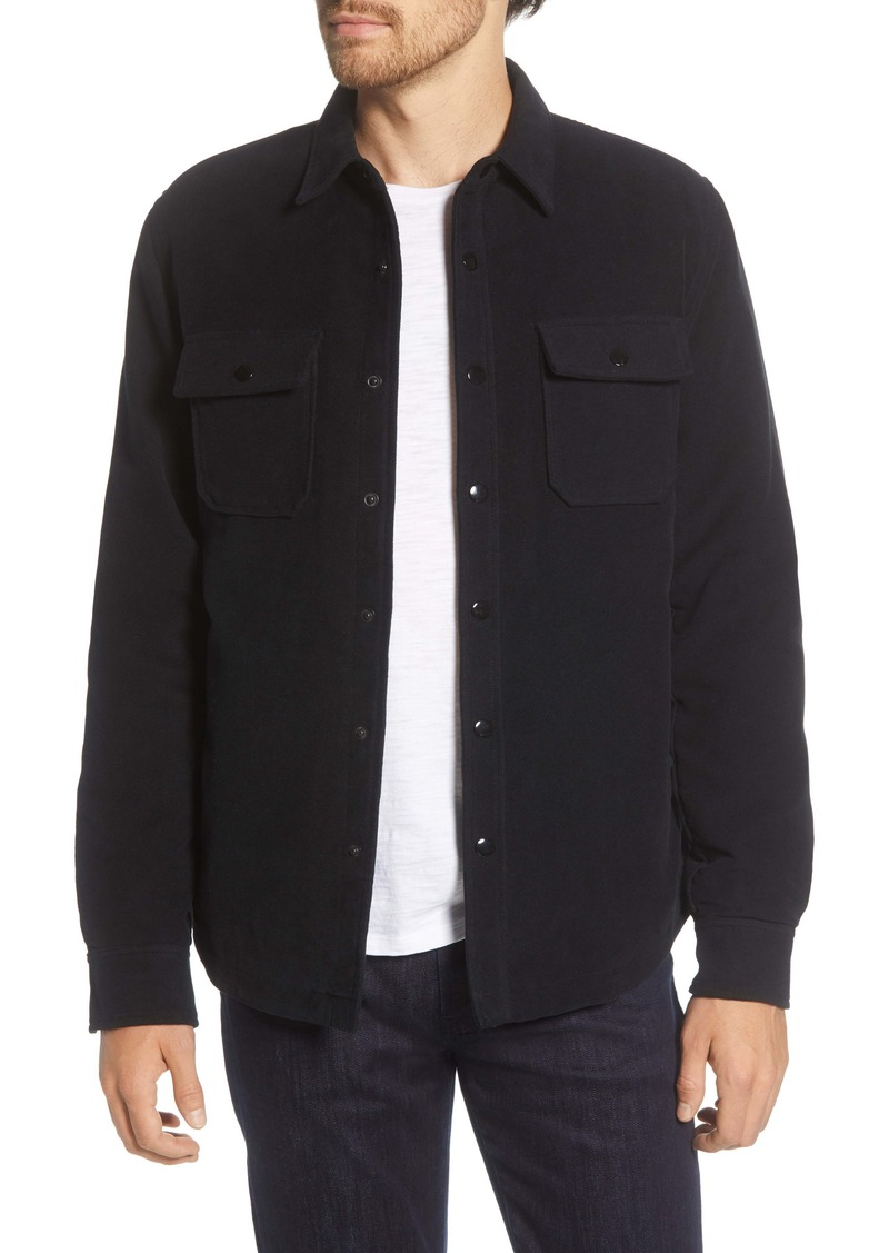 FRAME Classic Fit Shirt Jacket