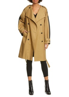 FRAME Colorblock Trench Coat