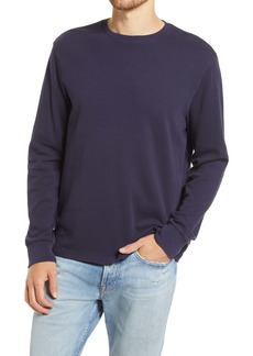 FRAME Cotton Long Sleeve Crewneck T-Shirt