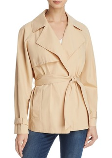 FRAME Cropped Trench Coat
