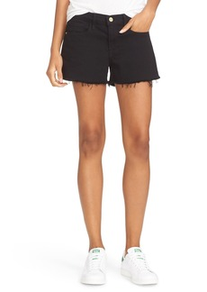 FRAME Cutoff Denim Shorts (Film Noir) (Nordstrom Exclusive)
