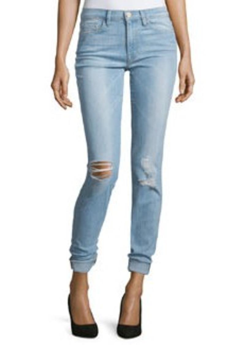 FRAME Karlie Forever Skinny Distressed Jeans