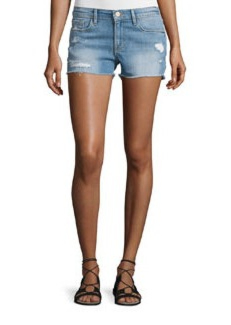 FRAME DENIM Le Cut Off Denim Shorts