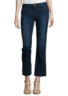 FRAME Le Slim Straight Cropped Denim Jeans