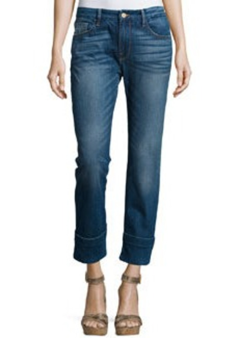 FRAME Le Grand Garcon Cropped Trouser Jeans