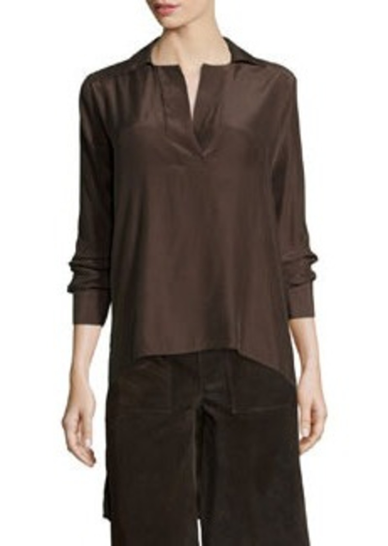 FRAME Le High-Low Popover Tunic