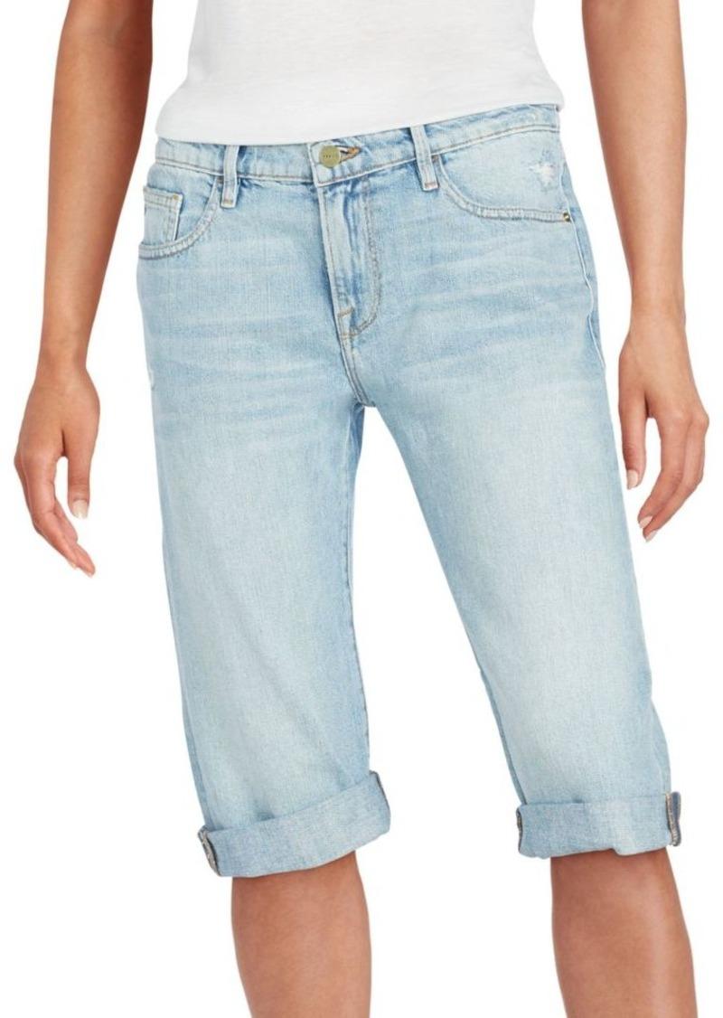 FRAME DENIM Bermuda Jean Shorts