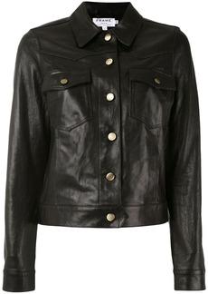 Frame Denim buttoned jacket - Black