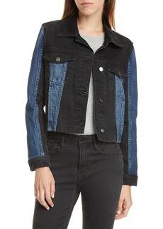 FRAME Denim Colorblock Jacket