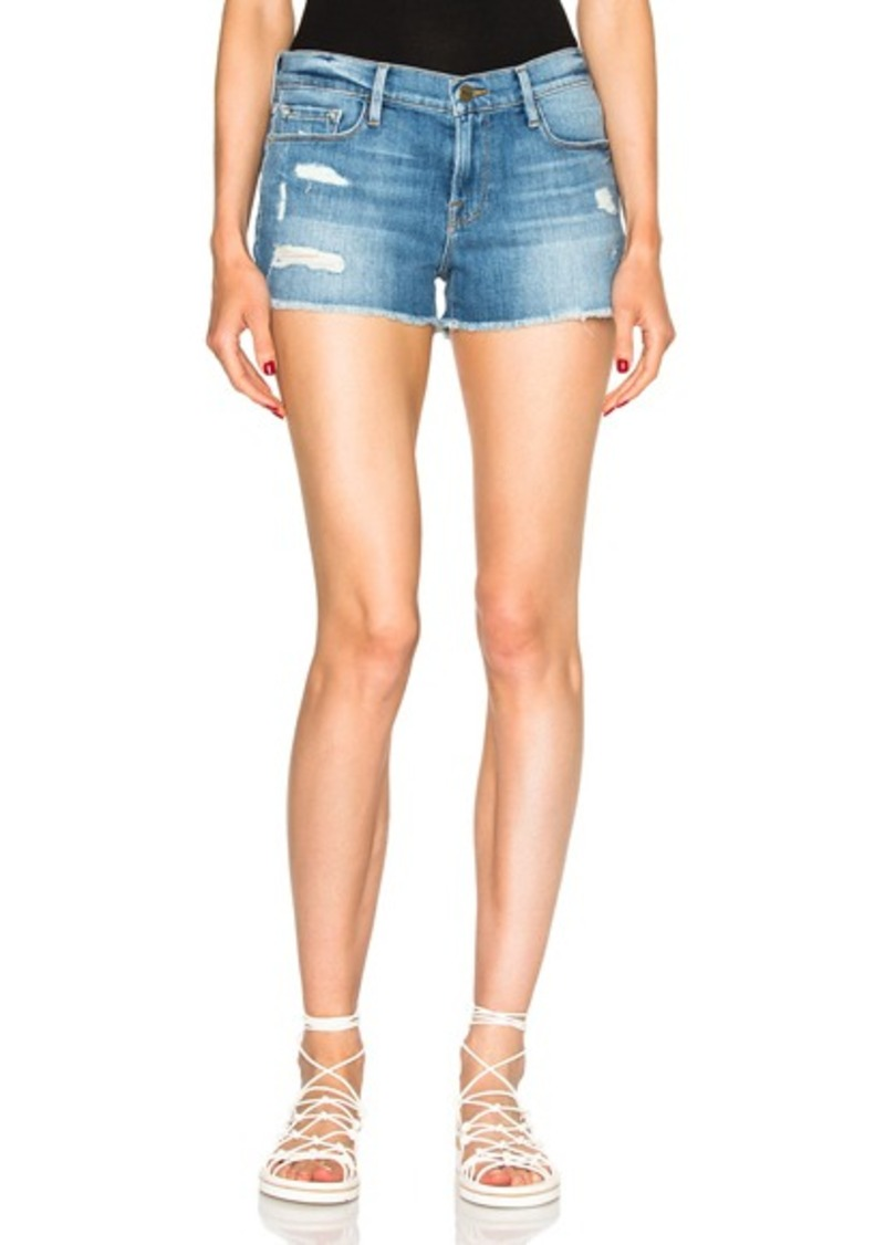 FRAME Denim Cut Off Shorts
