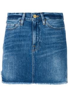 Frame Denim denim mini skirt - Blue