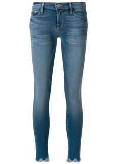 Frame Denim frayed hems jeans - Blue