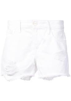 Frame Denim Le Grand Garcon shorts - White