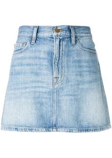 Frame Denim Le Mini denim skirt - Blue