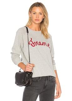 FRAME Denim Old School Sweatshirt in Gray. - size L (also in M,S)