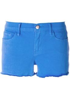 Frame Denim raw hem denim shorts - Blue