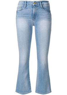 Frame Denim slim-fit flared jeans - Blue
