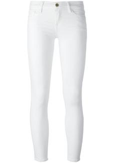 Frame Denim slim fit pants - White